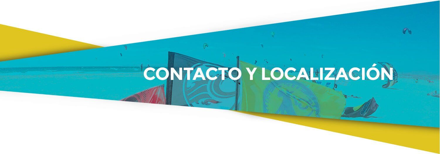 contacto y localización kite local scool