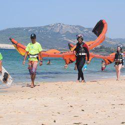 clases de kite kitesurf en tarifa clases privadas y semi-privadas