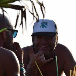 clases de kite y buen rollo, Jesús Lara siempre de buen humor