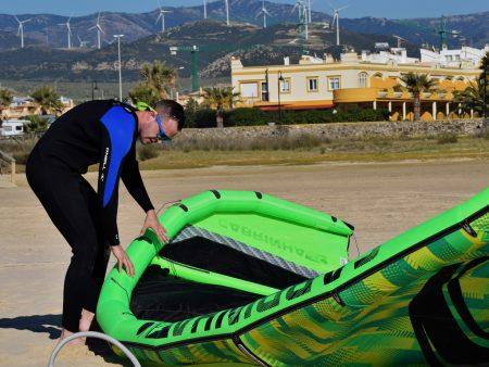Comprobar el estado de un kite de segunda mano