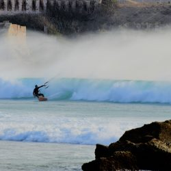 Práctica de windsurf en Tarifa