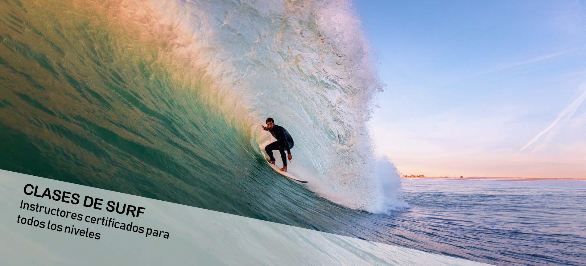 Clases de surf: instructores certificados para todos los niveles